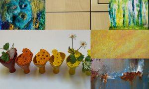 Collage van kunst